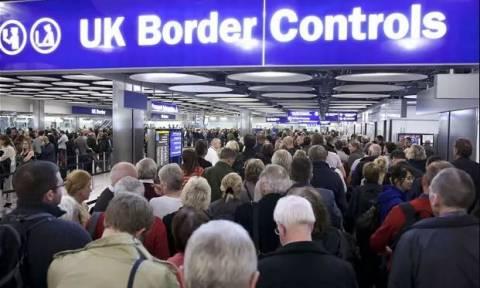 Ανέτοιμη η Βρετανία για την αλλαγή της μεταναστευτικής πολιτικής του Brexit