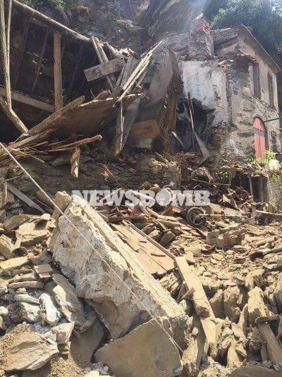 Ισχυρός Σεισμός Τώρα κοντά στη Μυτιλήνη