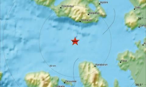 Σεισμός Μυτιλήνη: Οχτώ μετασεισμοί σε λιγότερο από μία ώρα