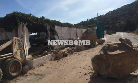 Σεισμός Μυτιλήνη: «Περιμένουμε νέα δόνηση 6,7 ρίχτερ»
