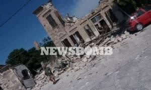 Σεισμός Μυτιλήνη: Εκκενώνονται Πλωμάρι και Βρίσα – Στο γήπεδο οι κάτοικοι