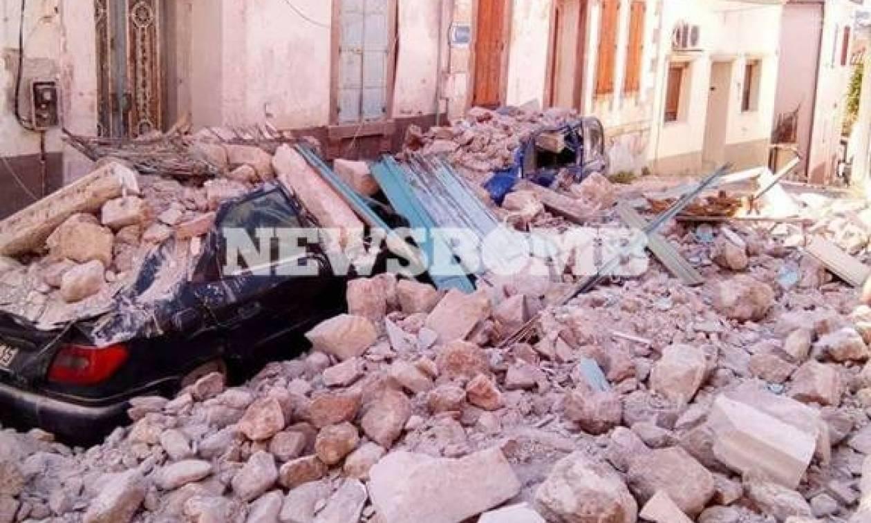 Φονικός σεισμός στη Μυτιλήνη: Μία γυναίκα νεκρή από τα 6,3 Ρίχτερ
