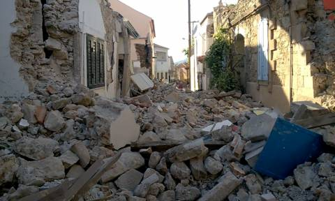 Σεισμός Μυτιλήνη: Ένα χωριό - «φάντασμα» - Νέες φωτογραφίες - σοκ