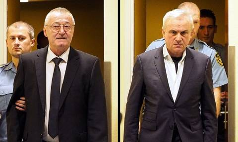 Σερβία: Στο εδώλιο ξανά οι «τελευταίοι πολέμαρχοι των Βαλκανίων» (Vids)