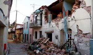Σεισμός Μυτιλήνη: Χωριό - «φάντασμα» η Βρίσα - Συντρίμμια και απόγνωση παντού
