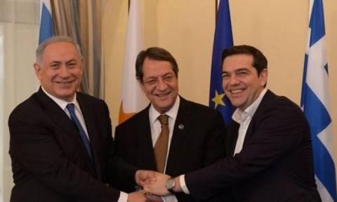 Анастасиадис, Ципрас и Нетаньяху обсудят строительство газопровода East Med