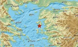 Νέος σεισμός κοντά στη Μυτιλήνη