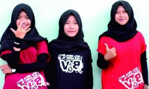 VoB: Mια μπάντα metal της Ινδονησίας από… γυμνασιοκόριτσα!