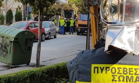 Συναγερμός στη Θεσσαλονίκη: Διαρροή φυσικού αερίου στα έργα του Μετρό