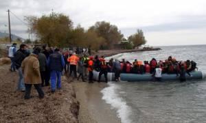 Πάνω από 200 μετανάστες πέρασαν από Μυτιλήνη και Χίο το τελευταίο τριήμερο
