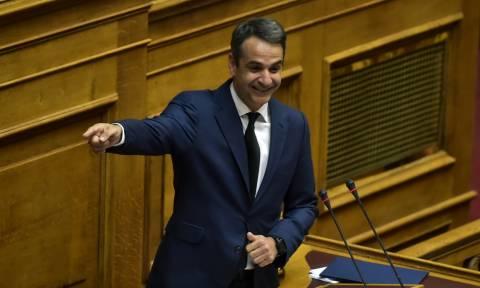 Προ ημερησίας συζήτηση στη Βουλή για την οικονομία ζητά ο Μητσοτάκης