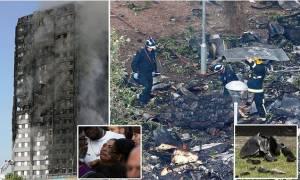 Πυρκαγιά Grenfell Tower: «Θανάσιμα» ερωτήματα, καθώς το σοκ μετατρέπεται σε οργή (Pics+Vid)
