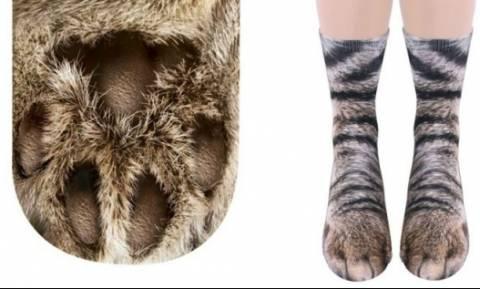 Κάλτσες σε σχήμα... ποδιών ζώων!