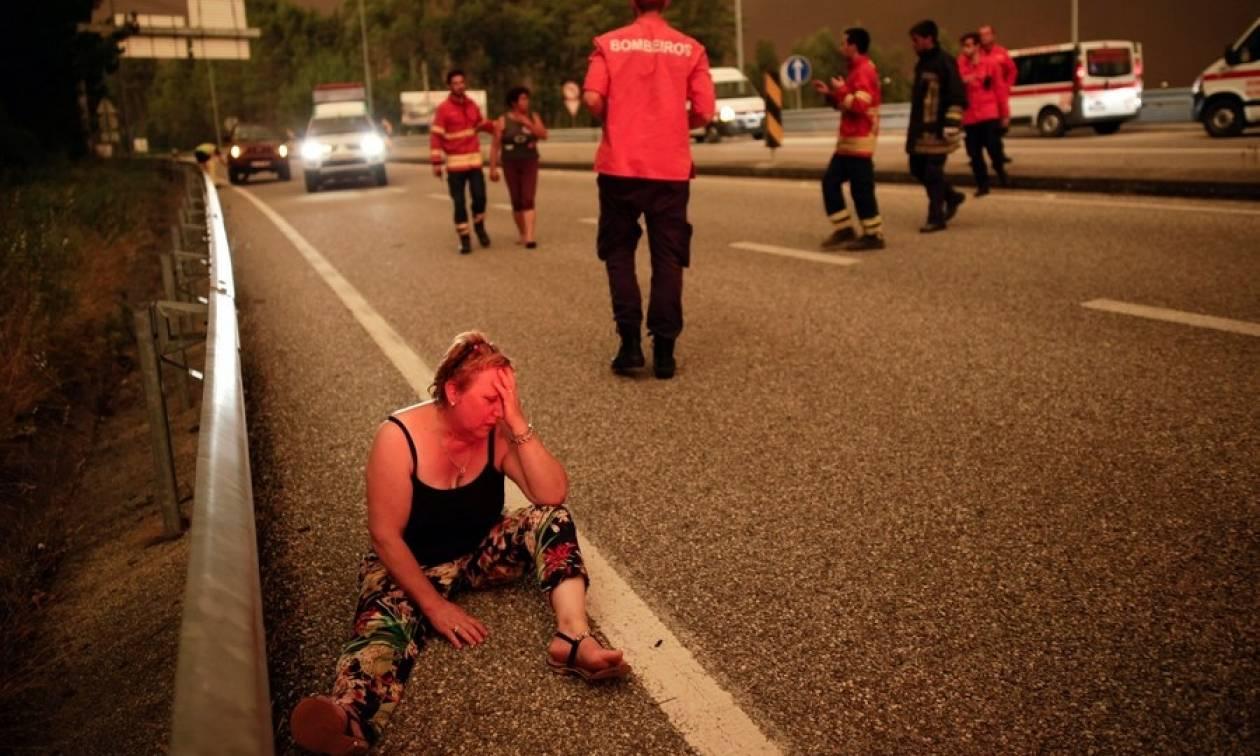 Τραγωδία στην Πορτογαλία: Αυξάνεται ραγδαία ο αριθμός των νεκρών από τη δασική πυρκαγιά (Vid)