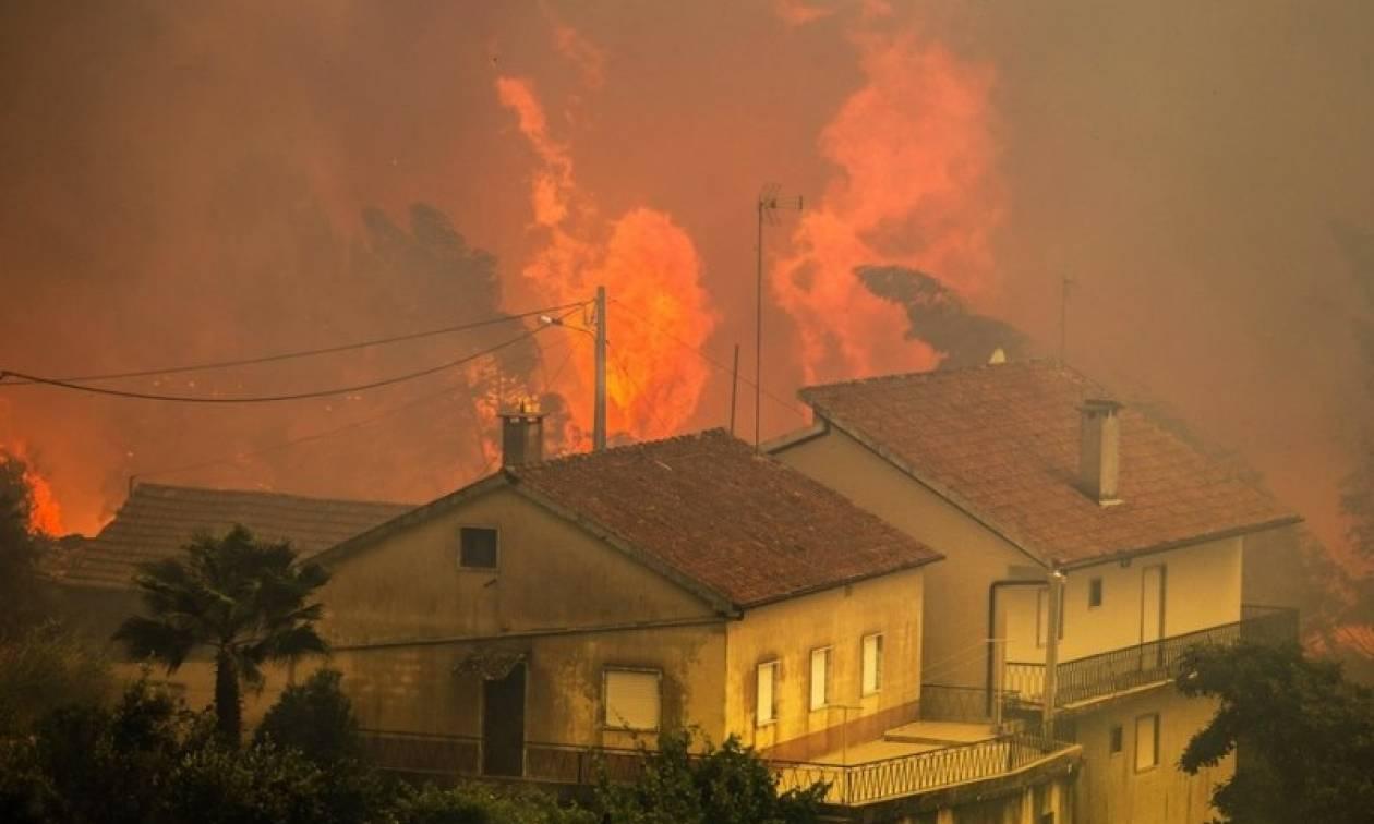 Πύρινος εφιάλτης στην Πορτογαλία: Τραγωδία με τουλάχιστον 62 νεκρούς