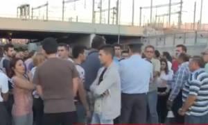 Στους δρόμους ξανά οι κάτοικοι του Μενιδίου (vid)