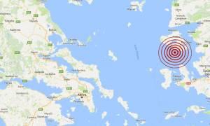 Σεισμός: Μετασεισμός κοντά στη Μυτιλήνη (pics)