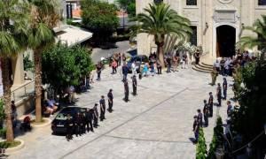 Το τελευταίο «αντίο» στον τέως αρχηγό της ΕΛΑΣ Μιχάλη Νηστικάκη (pics)