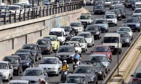 Κίνηση στους δρόμους της Αθήνας – Κάντε κλικ εδώ για να δείτε ποια σημεία να αποφύγετε