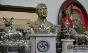 Συλλογή από ναζιστικά κειμήλια σε κρύπτη στο Μπουένος Άιρες (pics+vid)