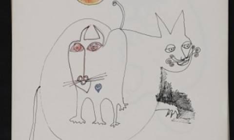 Οι γάτες ήταν πηγή έμπνευσης καλλιτεχνών- Αυτά είναι τα ευρήματα από τα Αρχεία Αμερικανικής Τέχνης