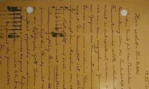 Επιστολές του Αϊνστάιν πωλήθηκαν για 210.000 δολάρια