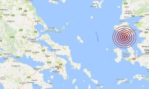Σεισμός: Ισχυρός μετασεισμός κοντά στη Μυτιλήνη (pics)