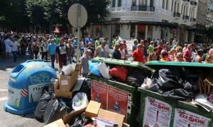Θεσσαλονίκη: Ξεχειλίζουν τα σκουπίδια στους δρόμους εν μέσω κινητοποιήσεων της ΠΟΕ - ΟΤΑ