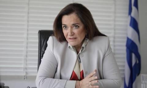 Μπακογιάννη: Ουραγός η Ελλάδα σε επίπεδο παγκόσμιας ανταγωνιστικότητας