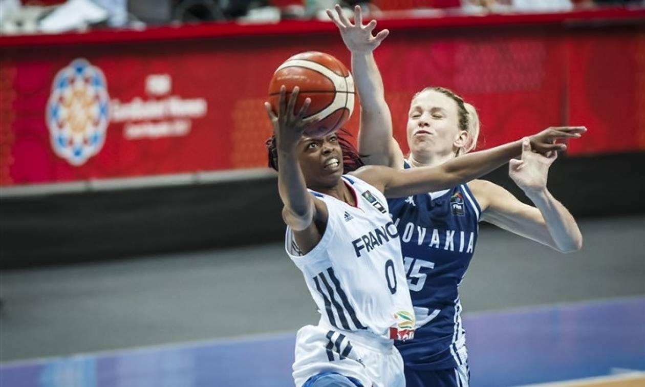 Η Γαλλία αντίπαλος της Εθνικής Γυναικών στα ημιτελικά του Ευρωμπάσκετ