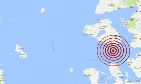 Σεισμός: 3,7 Ρίχτερ κοντά στη Μυτιλήνη (pics)