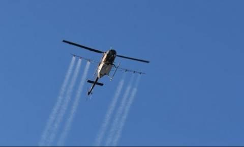 Πτώση ελικοπτέρου Σχοινιάς: Έτσι έπεσε το ελικόπτερο στον υγρότοπο