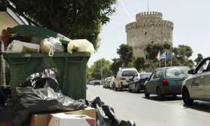 «Πνίγηκε» η Θεσσαλονίκη από τόνους σκουπιδιών