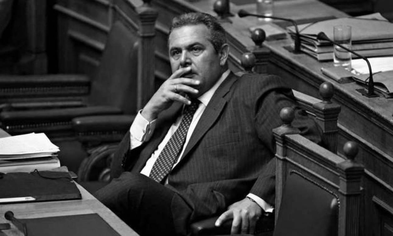 Καμμένος: Απαντήσεις στη Βουλή για τις συνομιλίες με τον ισοβίτη