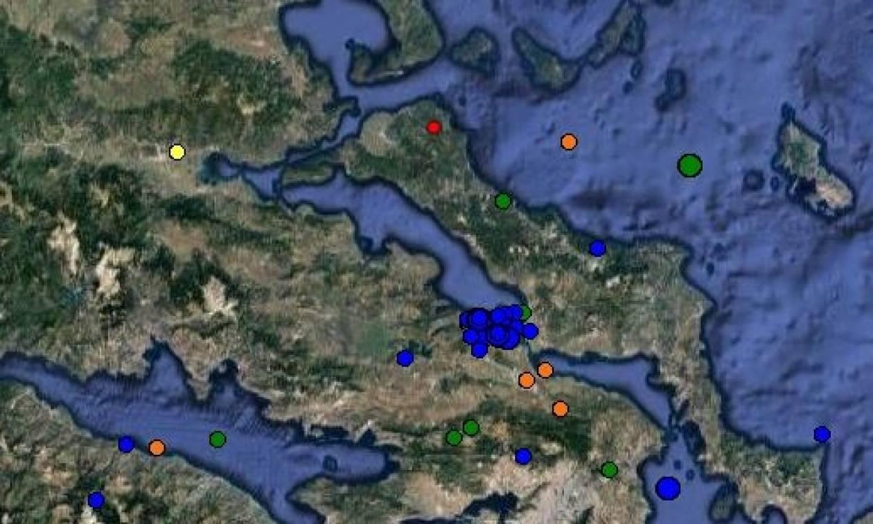 Σεισμός στη βόρεια Εύβοια