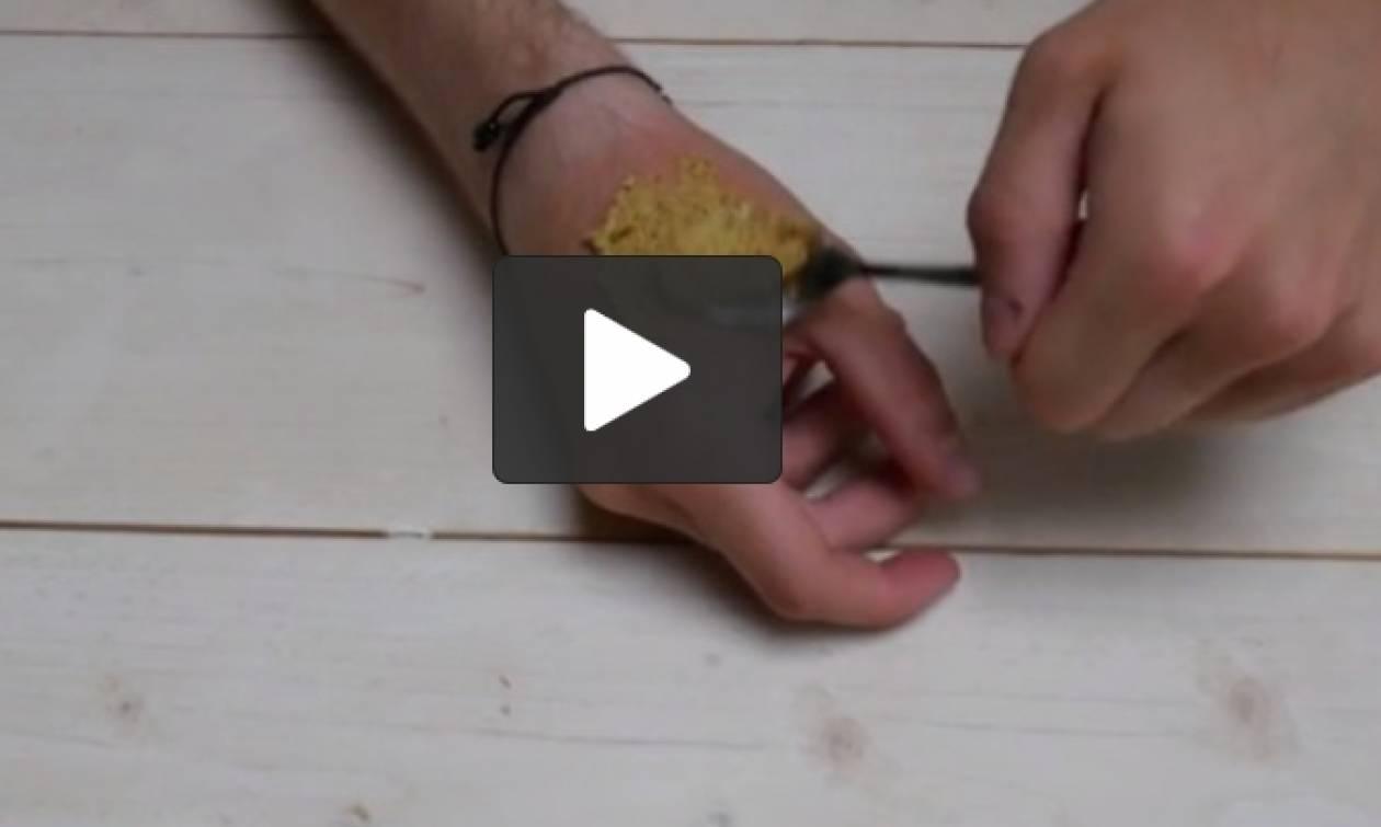 Καήκατε στο σιδέρωμα; Δείτε τι πρέπει να κάνετε αμέσως... (video)