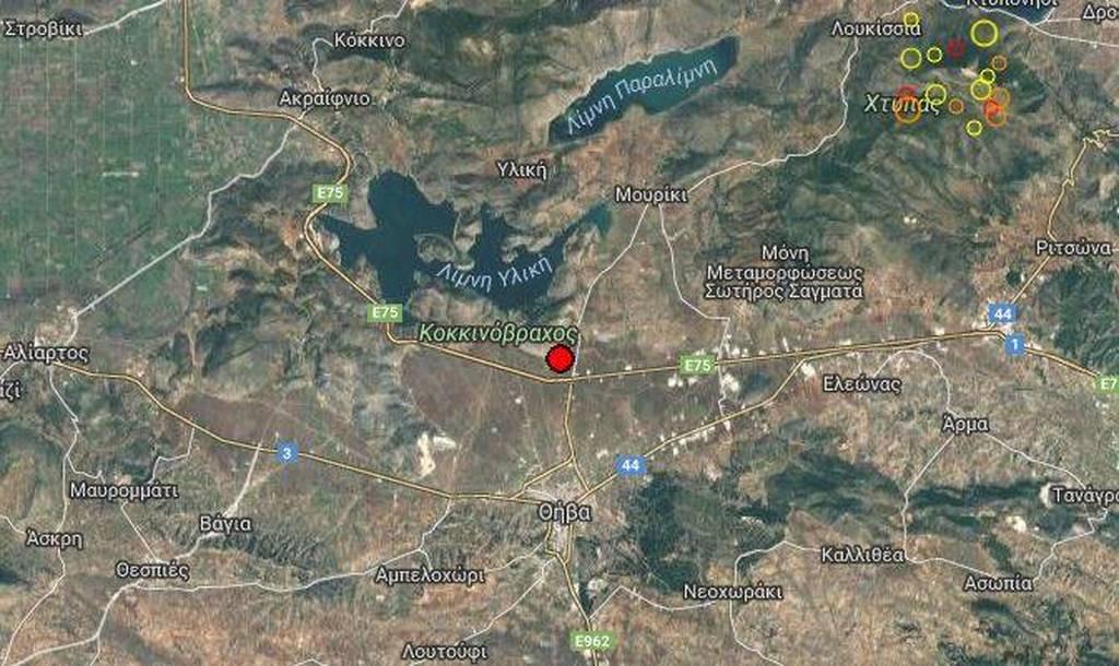 Έκτακτο: Ισχυρός σεισμός ΤΩΡΑ - Αισθητός στην Αθήνα