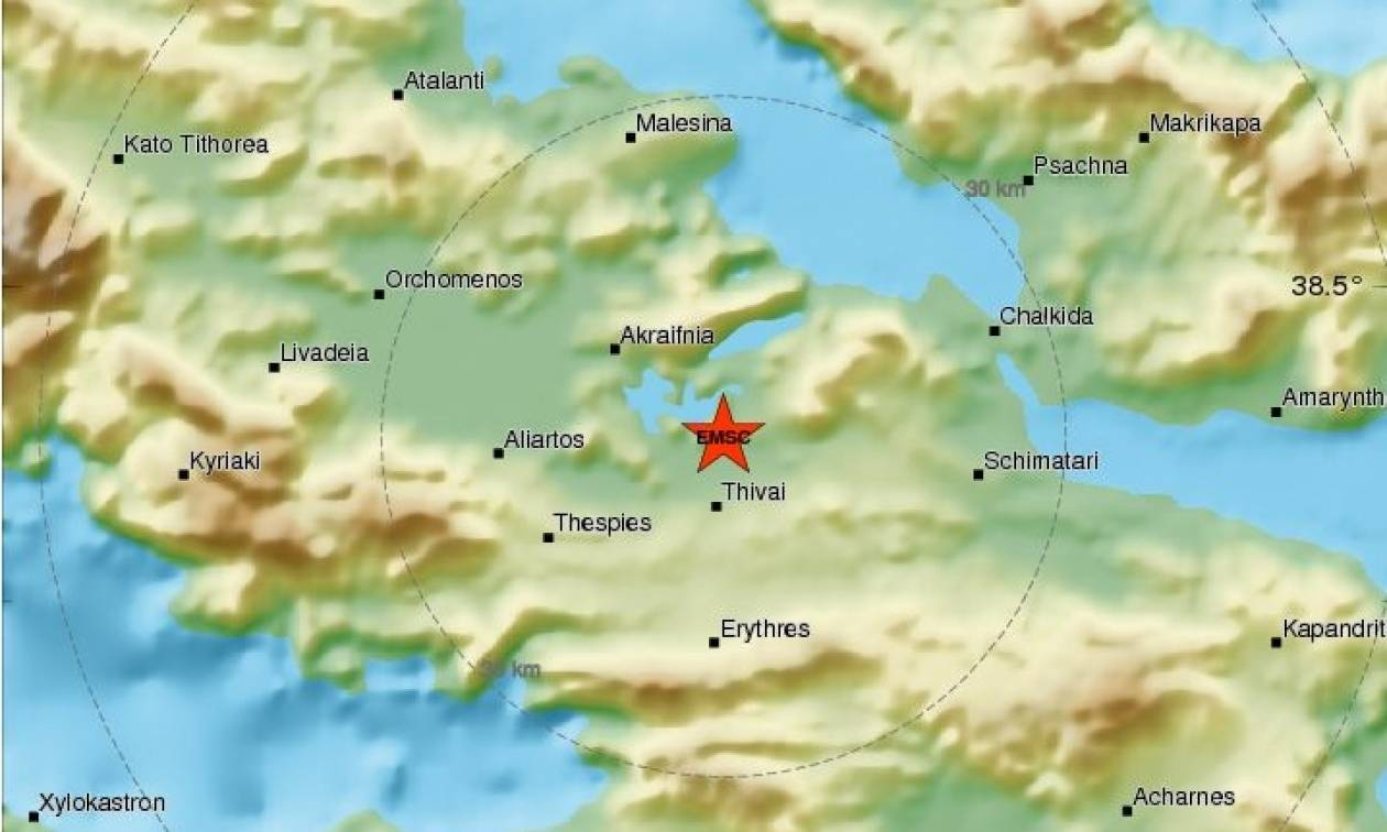 Σεισμός Θήβα - Έγινε αισθητός και στην Αθήνα: «Ακούστηκε μια δυνατή βοή και τρομάξαμε»
