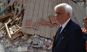Ηχηρό μήνυμα Παυλόπουλου: Η Βρίσα πρέπει και θα ξαναγίνει όπως ήταν