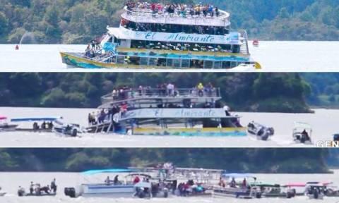Κολομβία: Εννέα νεκροί από τη βύθιση του πλοιαρίου