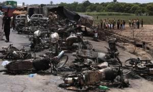 Τραγωδία στο Πακιστάν: Προσπάθησαν να πάρουν πετρέλαιο από το βυτιοφόρο και κάηκαν ζωντανοί