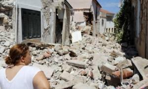Σεισμός Μυτιλήνη: Ακατοίκητα περισσότερα από 1.100 κτίσματα