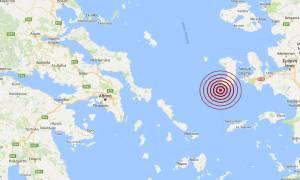 Σεισμός 3,5 Ρίχτερ νότια της Χίου (pic)