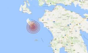Σεισμός στη Ζάκυνθο (pic)