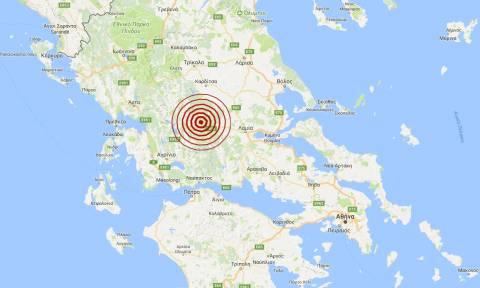 Σεισμός 3,9 Ρίχτερ βόρεια του Καρπενησίου (pics)
