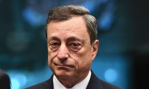 «Φρένο» από Ντράγκι: Ξεχάστε την ποσοτική χαλάρωση χωρίς συγκεκριμένα μέτρα για το χρέος