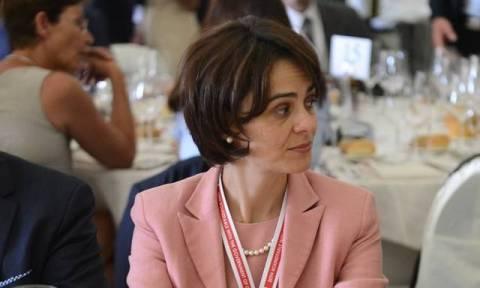 Στην Αθήνα η Ντέλια Βελκουλέσκου - «Παρούσα» στη συνεδρίαση του EuroWorking Group