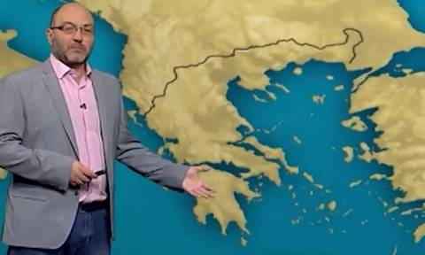 Καιρός: Ο Σάκης Αρναούτογλου για την πορεία του καύσωνα. Πότε θα δροσίσει; (video)