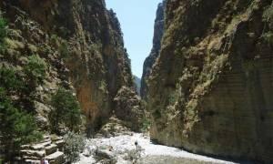 Καιρός - Καύσωνας: Προληπτικά μέτρα στο Φαράγγι της Σαμαριάς