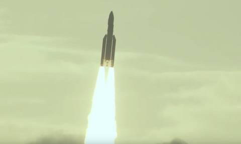 Στο διάστημα Ελλάδα και Κύπρος! Επιτυχημένη η εκτόξευση του Hellas SAT 3 (video)